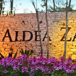 Aldea Zama entrance