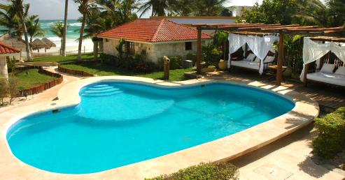 Ana y Jose, a good beach club and cabanas in Tulum