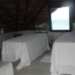Coqui Coqui spa with sea view