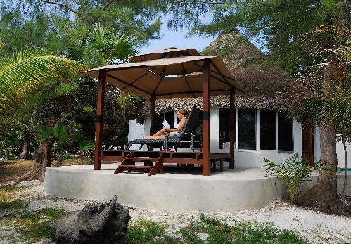 Basic but comfortable beachfront lodging at Boca Paila FIshing Lodge