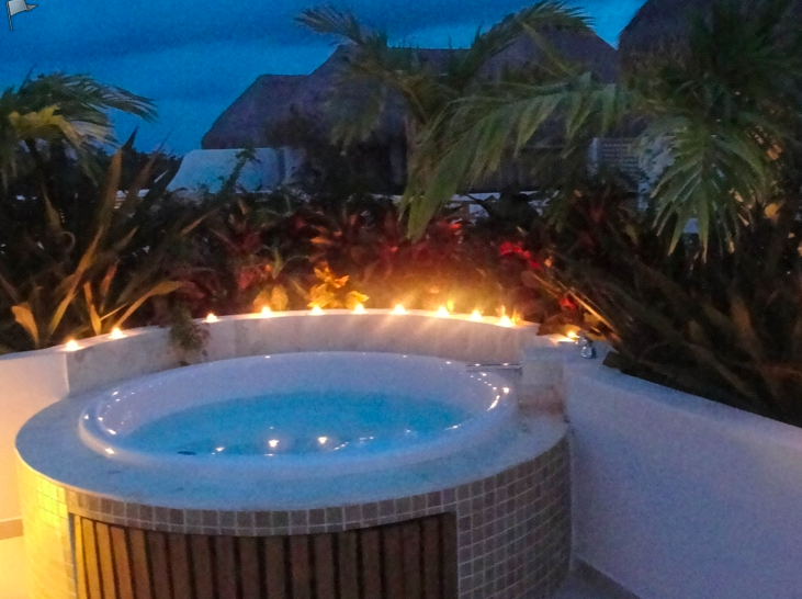 Jacuzzi chill out at your private penthouse rooftop after a long fly fishing day