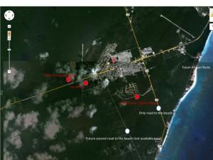 tulum vacation rental condo location
